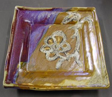 gold shino glaze