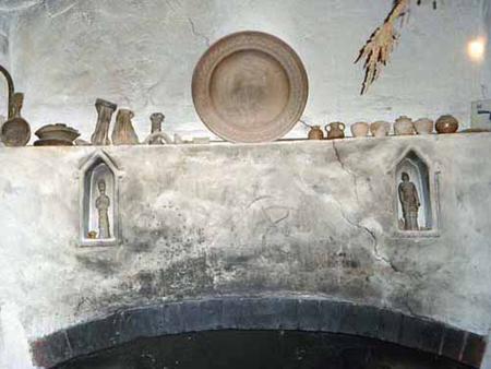 Bernard Leach fireplace