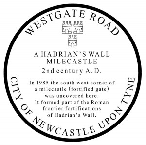 The Milecastle Plaque