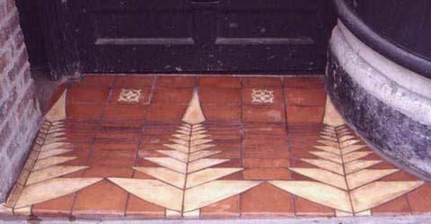 hand made door step
