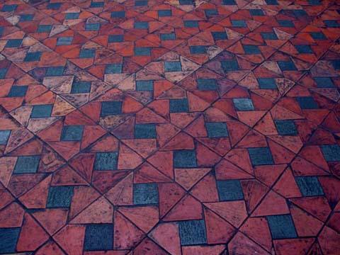 Tile kites design