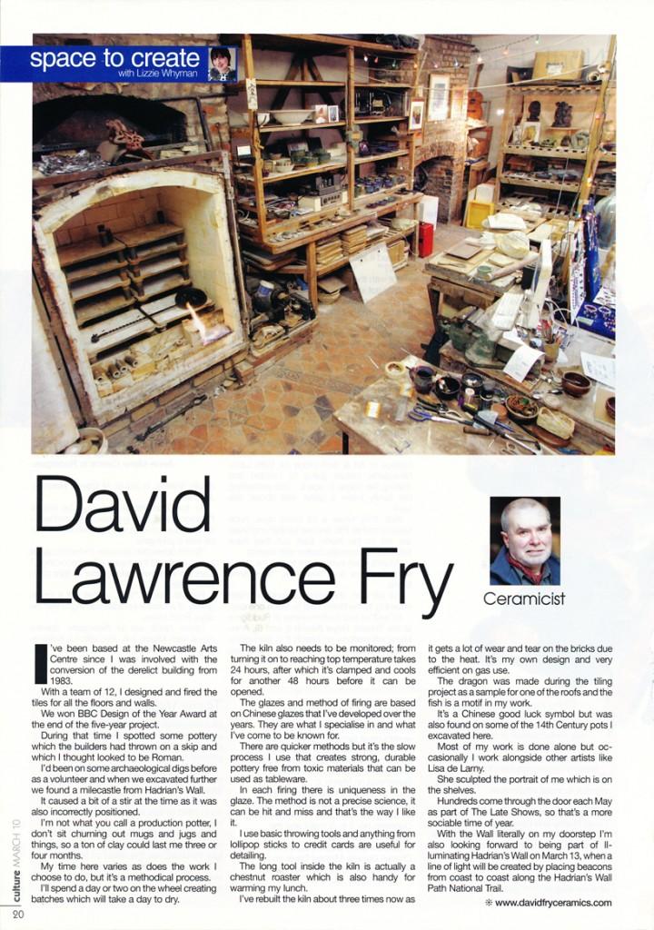 David Fry's Studio